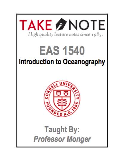EAS 1540 - Monger