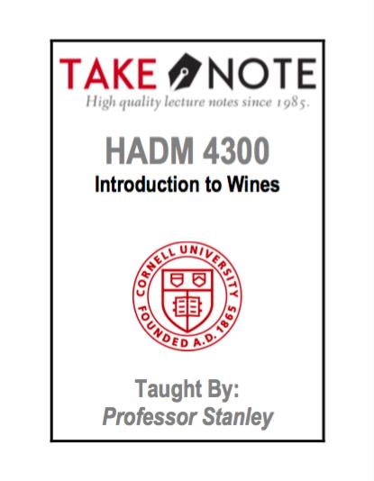 HADM 4300 - Stanley