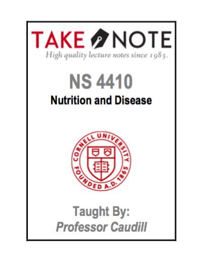 NS 4410 - Caudill