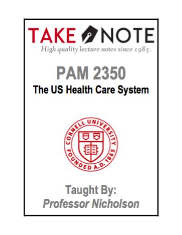 PAM 2350 - Nicholson