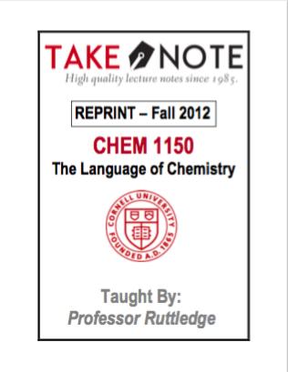 CHEM 1150 - $40