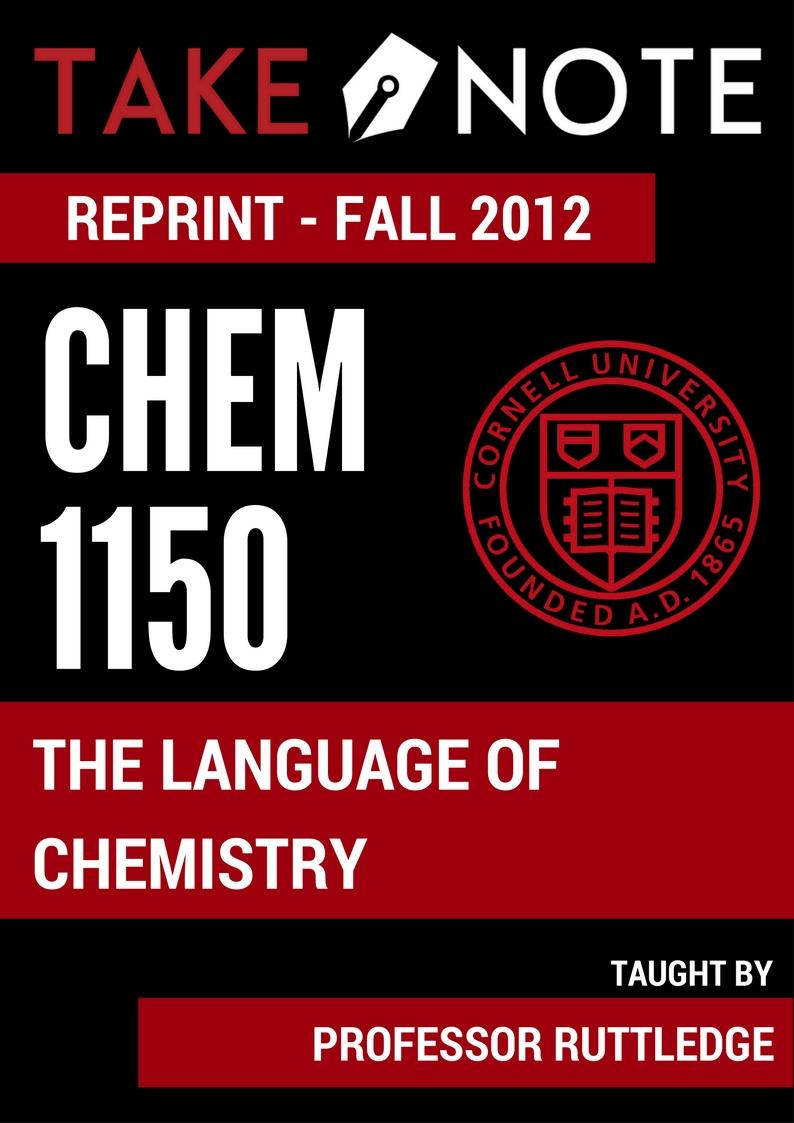 CHEM 1150