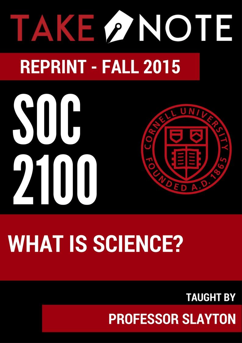 SOC 2100
