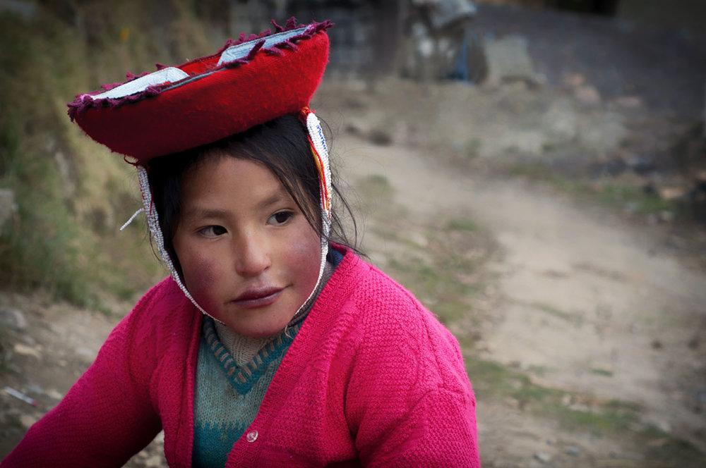 Quechuan Girl