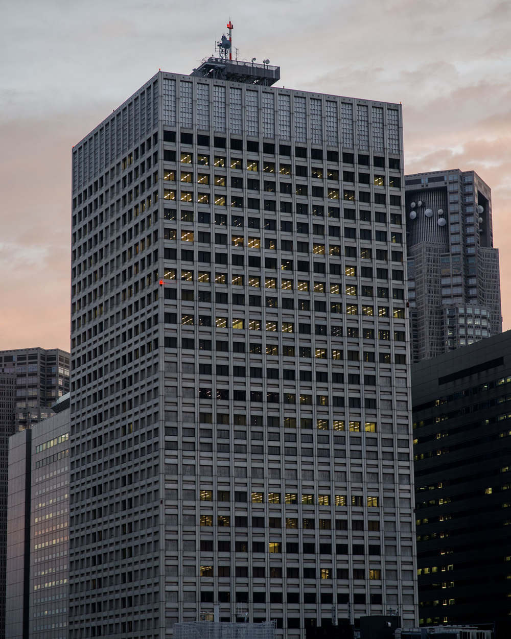 """from the project """"Tokyo Office Building"""", 2015"""