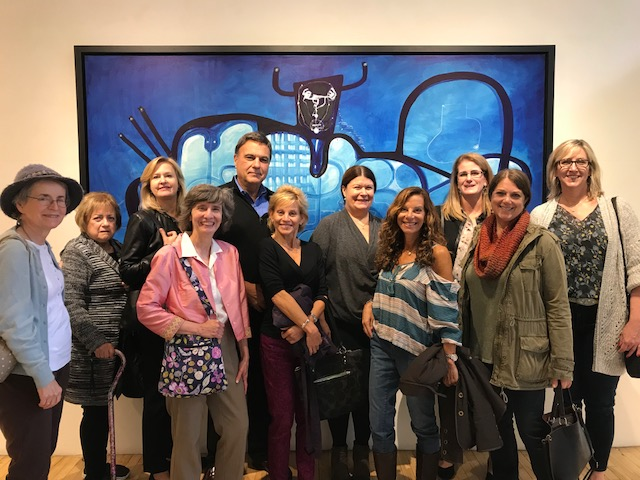 SoHo Art Gallery Tour - October 25, 2017