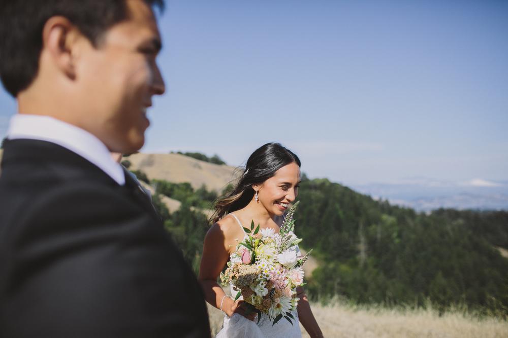 Mt Tamalpais Elopement Wedding Rachelle Derouin Photographer-31.jpg