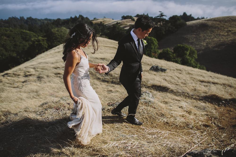 Mt Tamalpais Elopement Wedding Rachelle Derouin Photographer-54.jpg