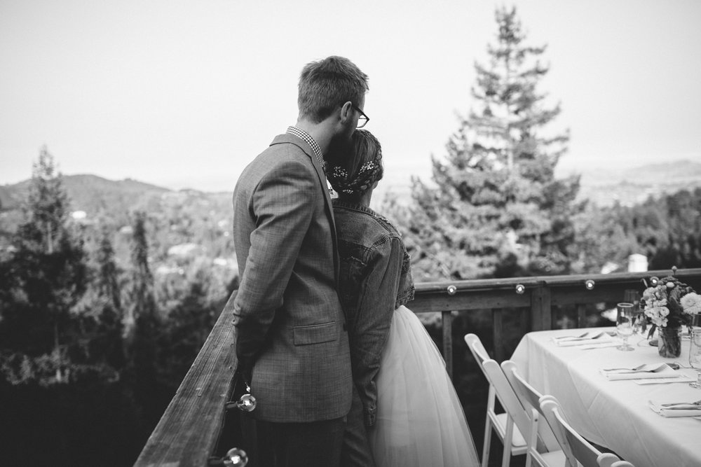 Mt Tamalpais Mountain Home Inn Wedding Rachelle Derouin Photographer-101.jpg