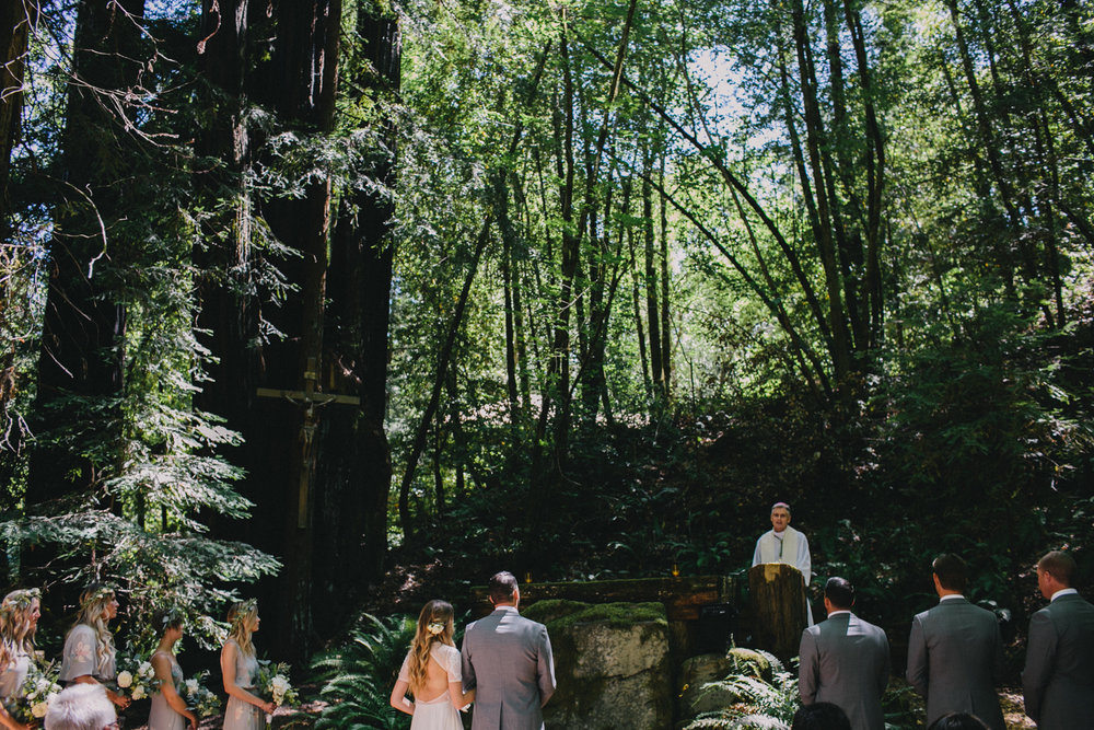 Jenner Cazadero Redwood Wedding Rachelle Derouin Photographer-22.jpg