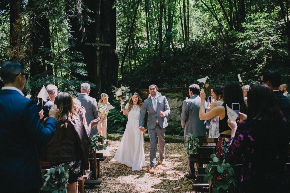 Jenner Cazadero Redwood Wedding Rachelle Derouin Photographer-29.jpg