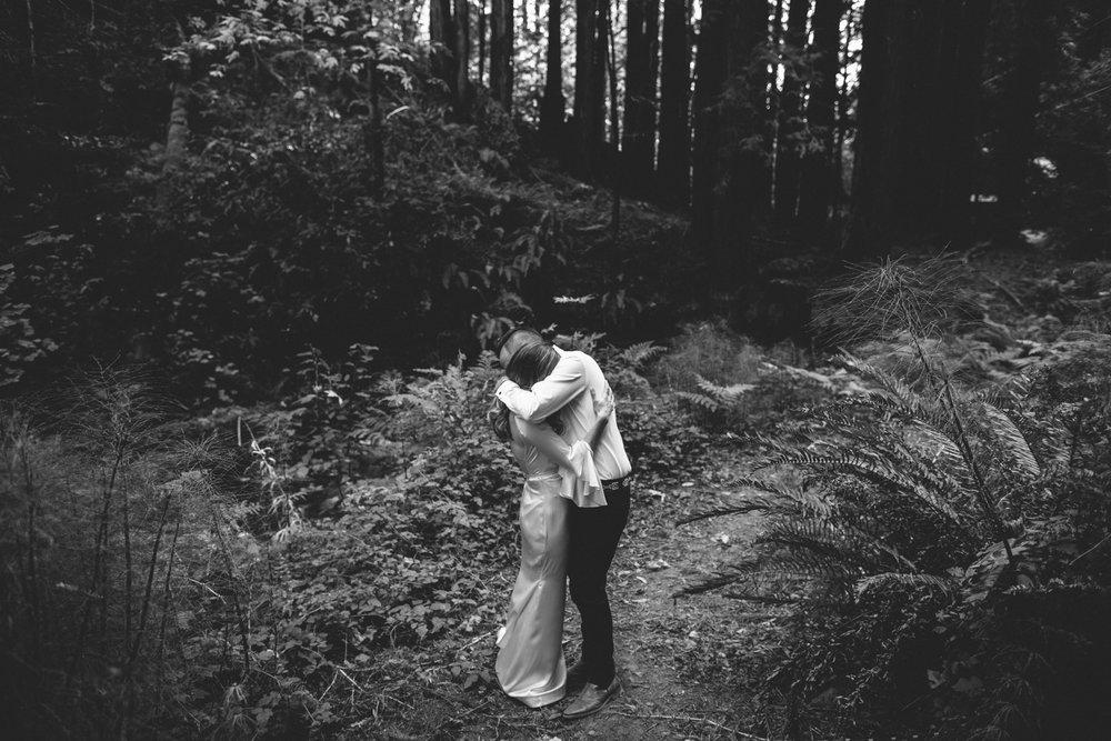 Pescadero Forest Wedding Rachelle Derouin Photographer-51.jpg