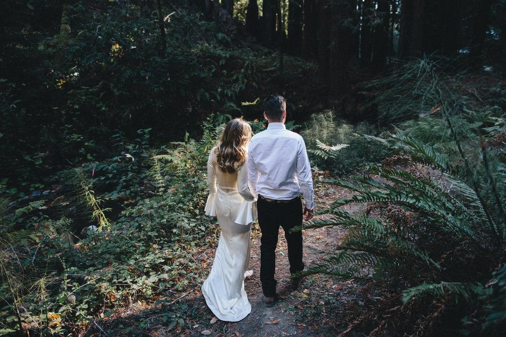 Pescadero Forest Wedding Rachelle Derouin Photographer-50.jpg