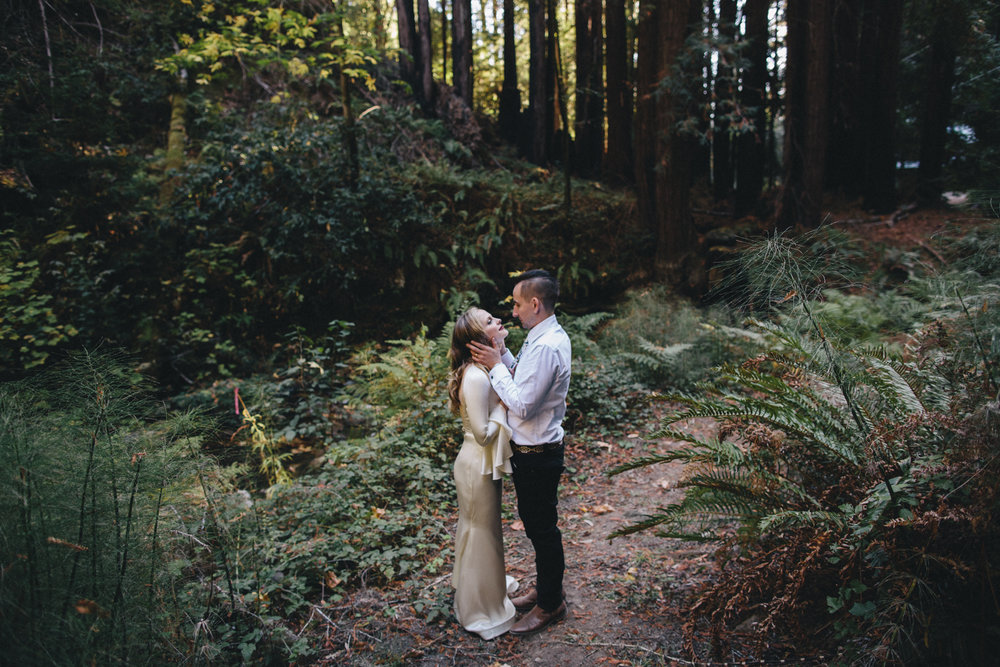 Pescadero Forest Wedding Rachelle Derouin Photographer-52.jpg