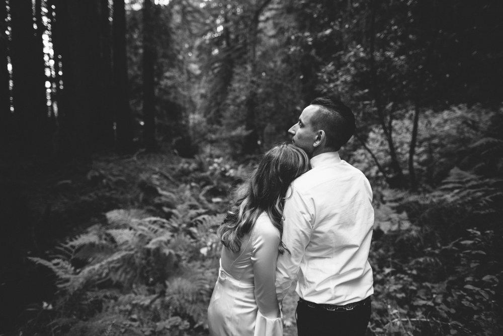 Pescadero Forest Wedding Rachelle Derouin Photographer-55.jpg