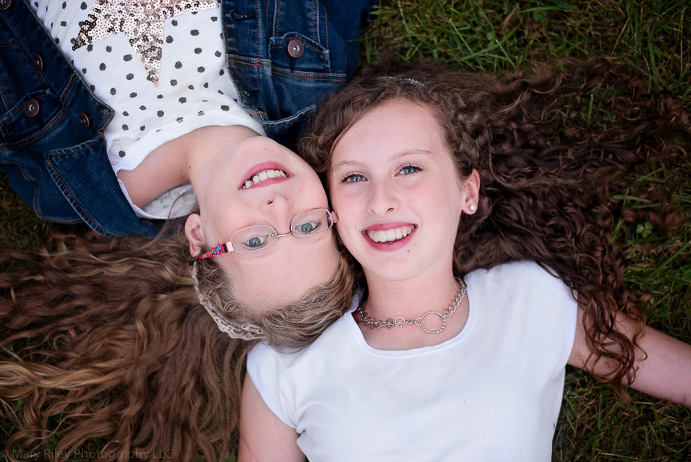 two girls Mary Riley Photography Wentzville Missouri