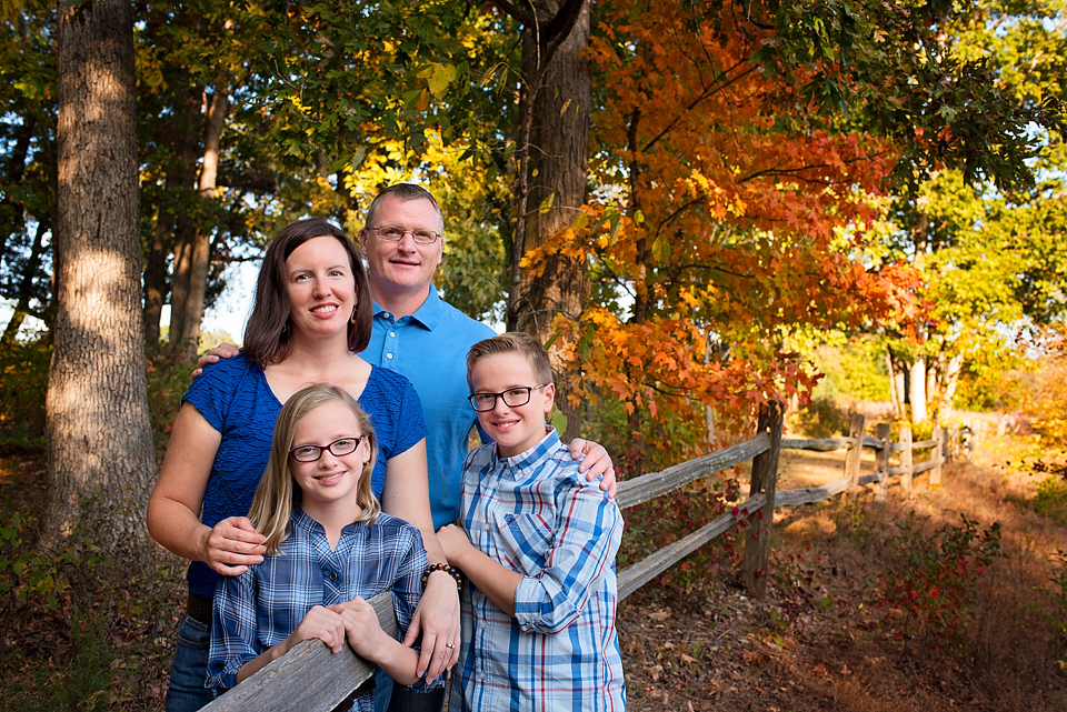 Family Photo Quail Ridge Park Wentzville Missouri
