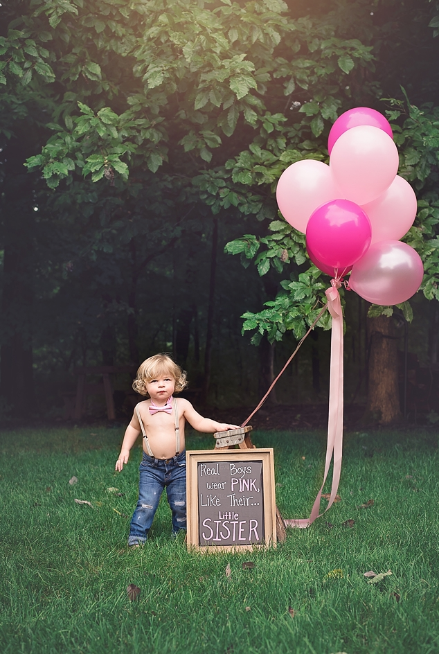 Gender Reveal Photo Mary Riley Photography Wentzville Missouri