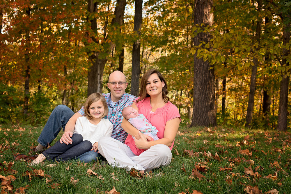 Family Fall Photograph Mary Riley Photography Wentzville St. Louis Missouri