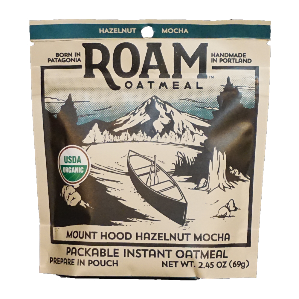 Mount Hood HAzelnut Mocha   Oatmeal with a caffeine kick. Chocolate, hazelnuts, and coffee blend for a delicious mocha flavor.