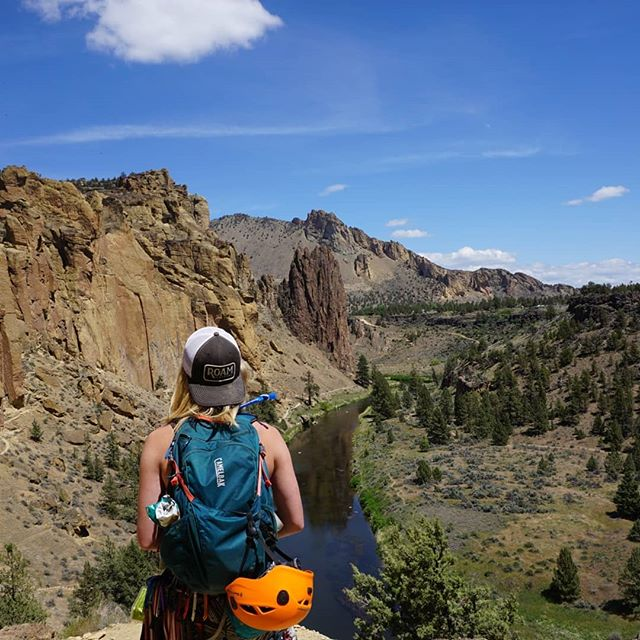 Have a great Memorial Day weekend everyone! #wakeupandroam ⠀⠀⠀⠀⠀⠀⠀⠀⠀ #smithrock #climbing #camelback #crookedriver #centraloregon #exploregon #PNWonderland #organic #buylocal