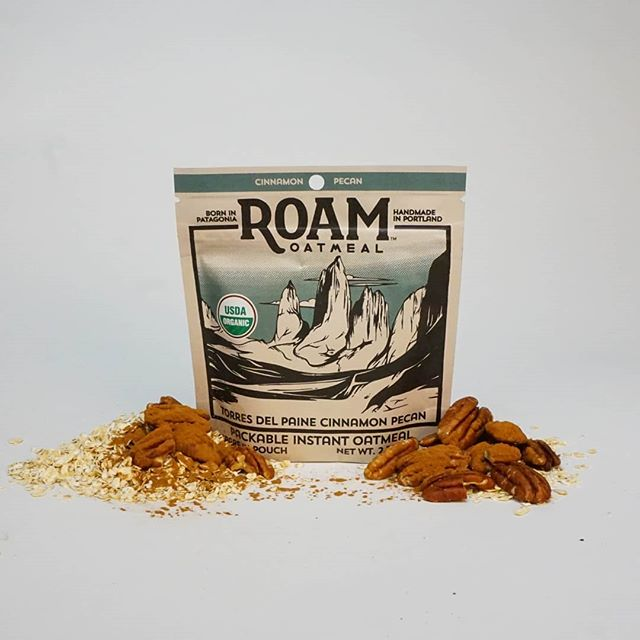 Our cinnamon pecan oatmeal is a hearty, comforting mix of tasty flavors. Like all of our oatmeal blends it is delicious, high in protein, has enough calories to keep you going, and is light enough to not weigh you down. Find a full list of places you can find Roam Oatmeal on our website, or buy online! #wakeupandroam  #madeinpdx #madeinoregon #buylocal #glutenfree #organic #cinnamon #deliciousbreakfast