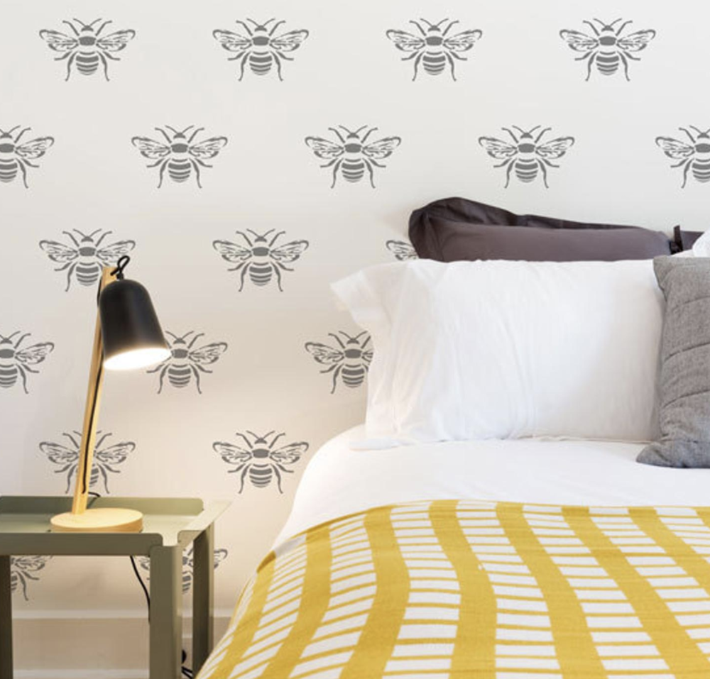 Bee Wall Stencil- Beehive SHoppe.png