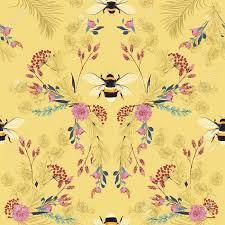 Bumble Bee Wall Paper Beehive Shoppe.jpg
