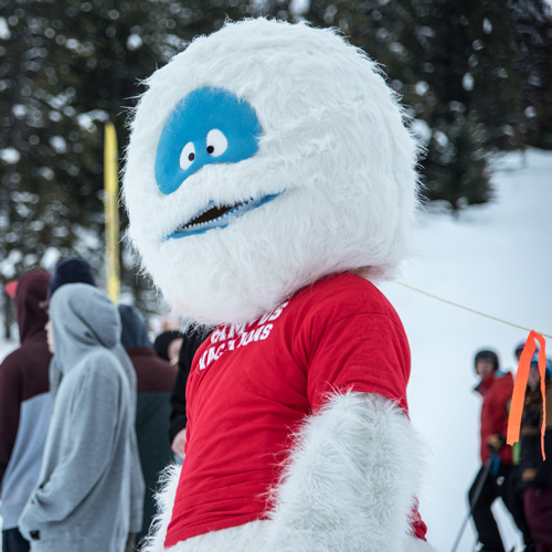 "YETI CV MASCOT Reed""S BEST FRIEND"