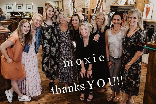 Thank you for a fabulous 15 years! From all of us to you...NEVER STOP SHOWING YOUR m o x i e!!
