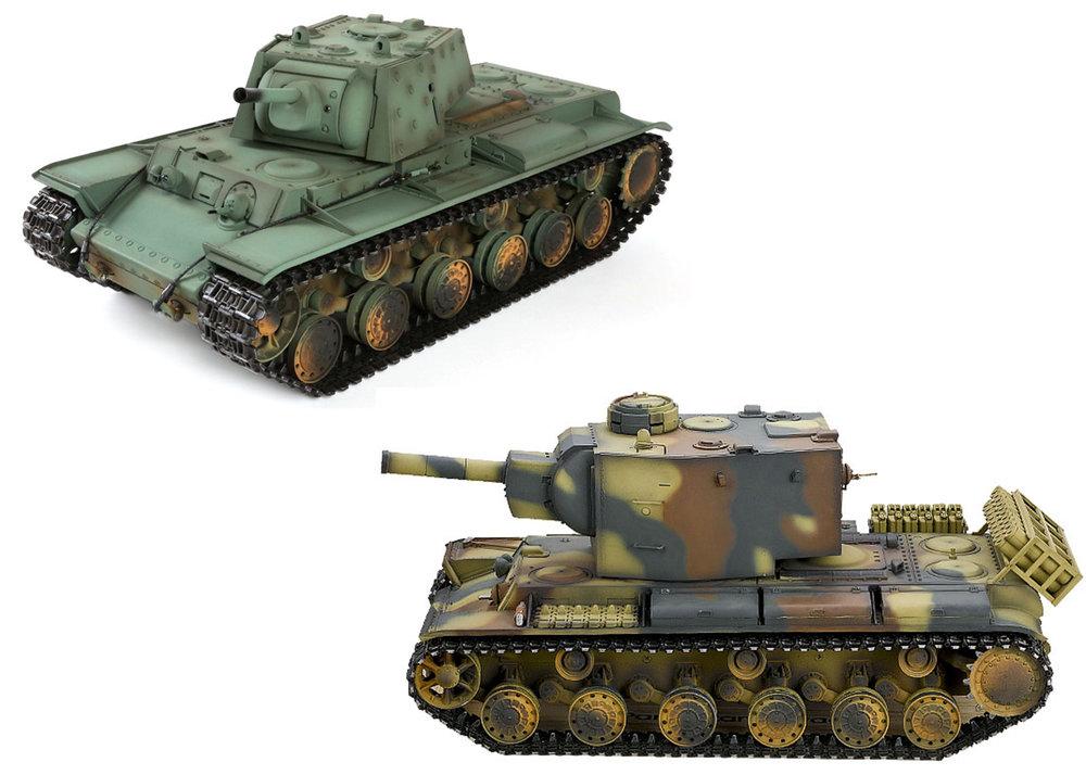 KV-1 & KV-2 Tank Parts