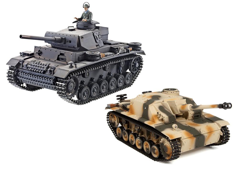 Panzer III & Sturmgeschutz III Tank Parts