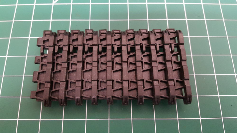 Tiger 1 Early Plastic Tracks
