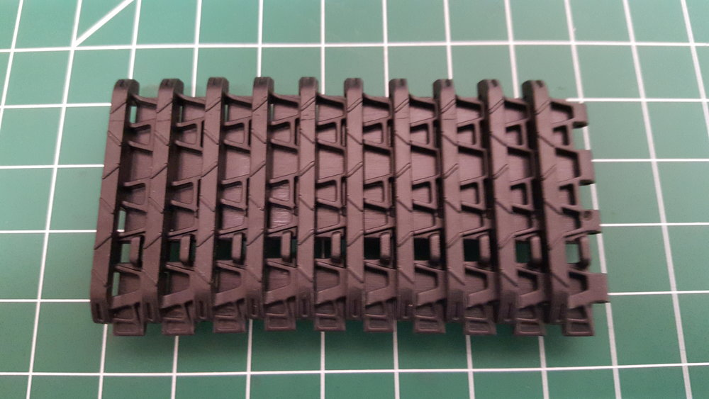 Tiger 1 Late Plastic Tracks