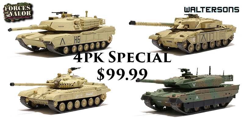 4pk 1/72nd Scale Special