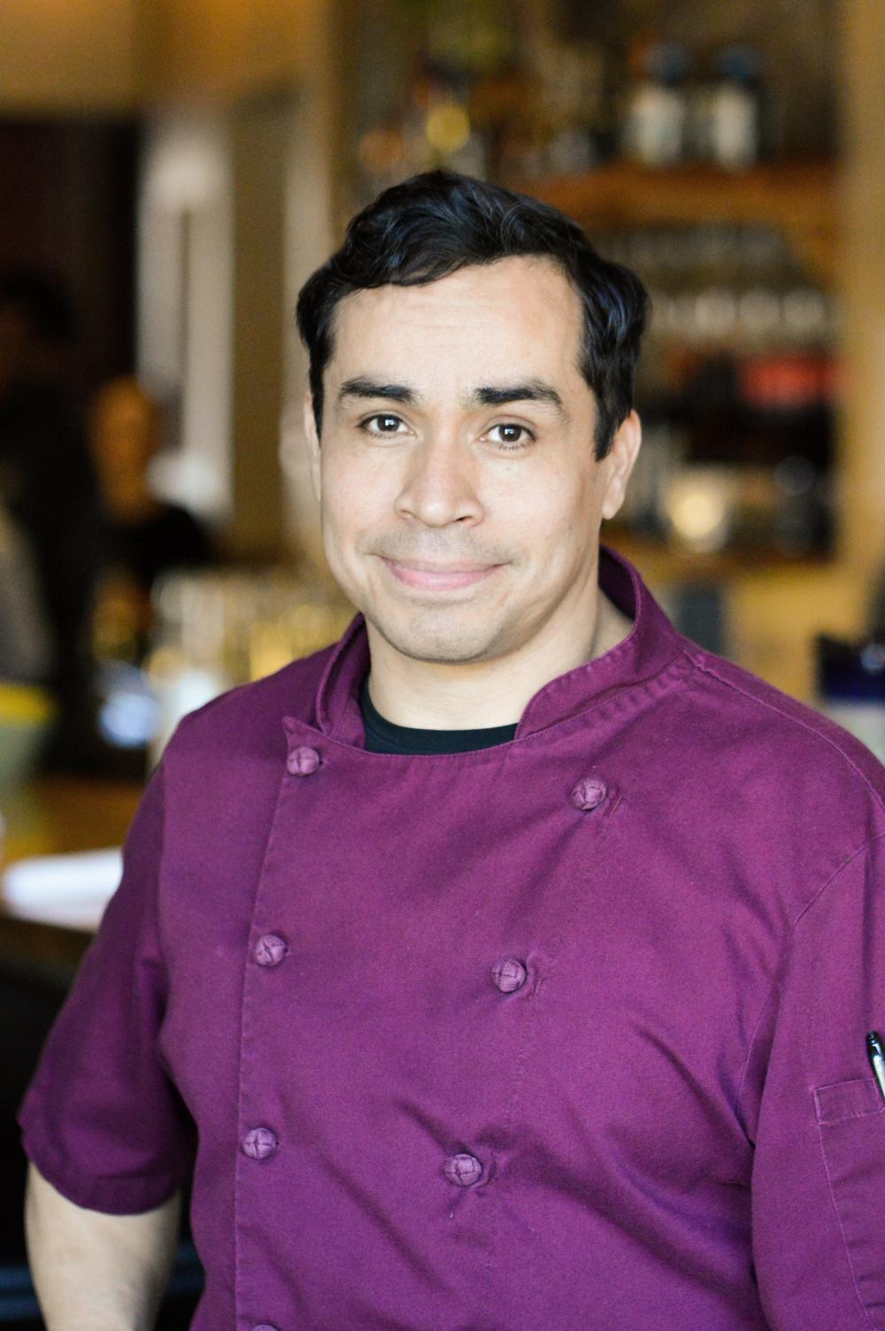 Hugo Sosa, chef