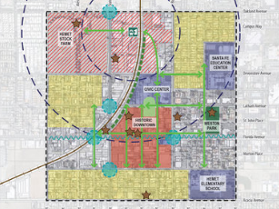 <b>DOWNTOWN HEMET SPECIFIC PLAN</b><br>Hemet, California</br>