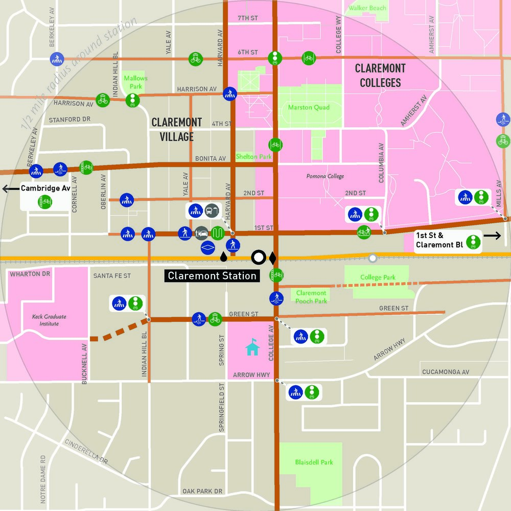 METRO GOLD LINE FOOTHILL EXTENSION PHASE 2B FIRST/LAST MILE PLANNING