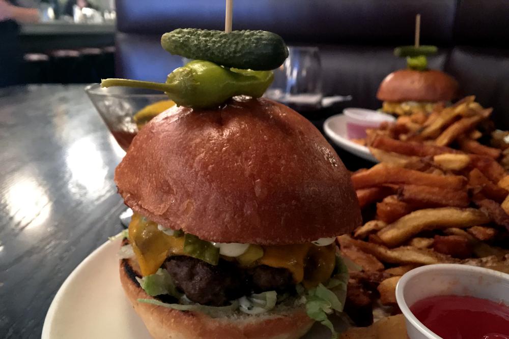 Saint Cheeseburger ($18)