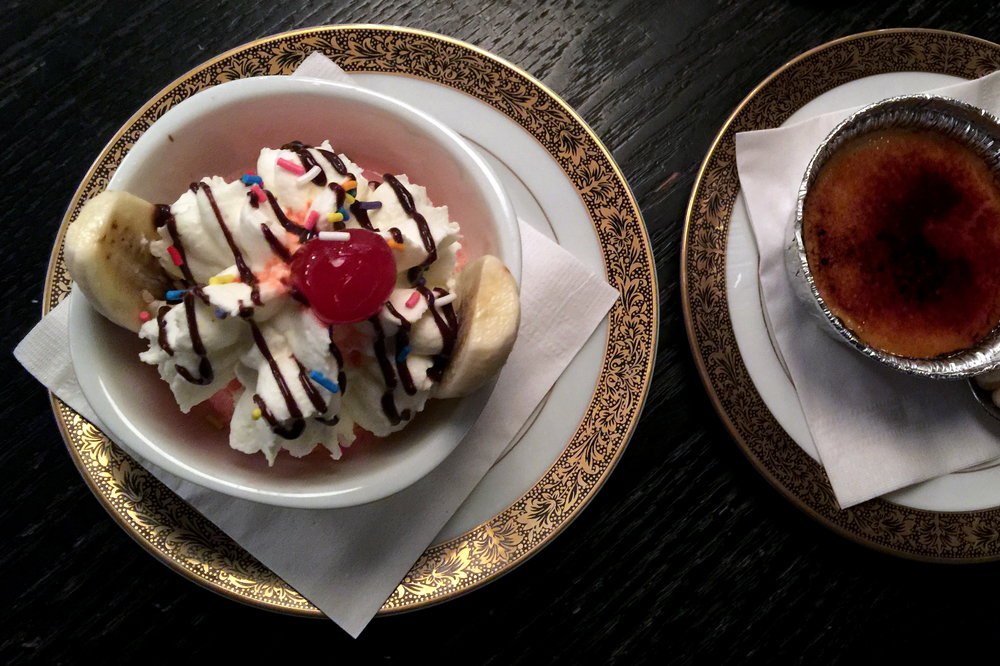 Banana Split (only available during Summerlicious)
