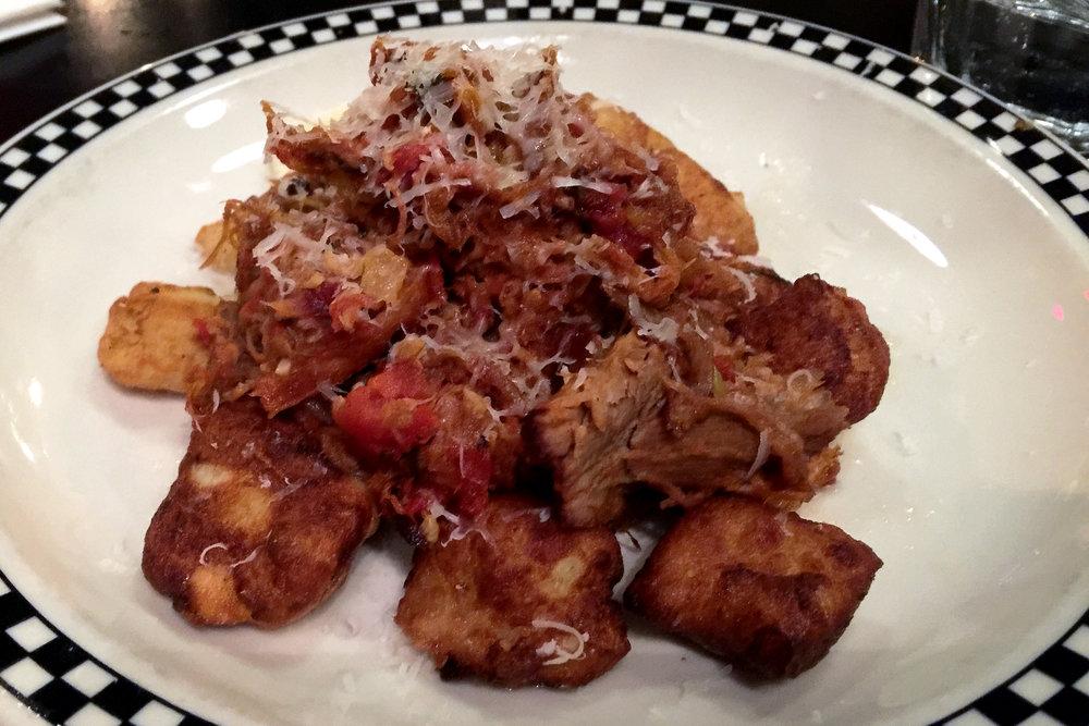 Gnocchi Tossed in Maple Pork Rague