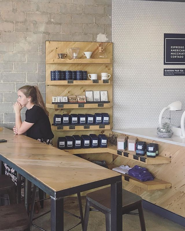 New shelf installed over at Camp Bowie Craftwork. Go check it out and grab some coffee while you're there.