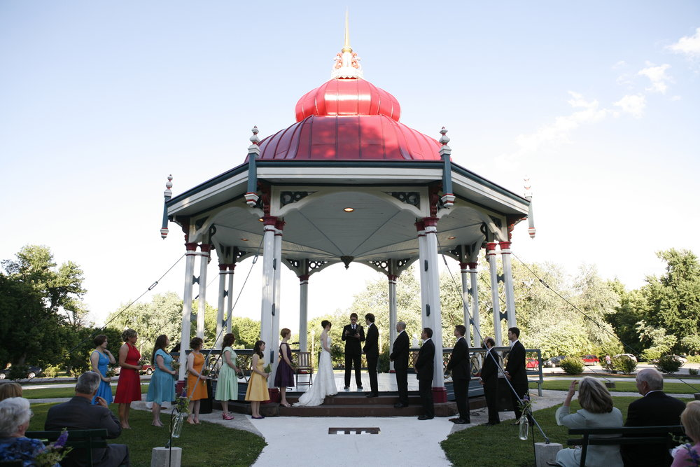 Wedding packages at Tower Grove Park