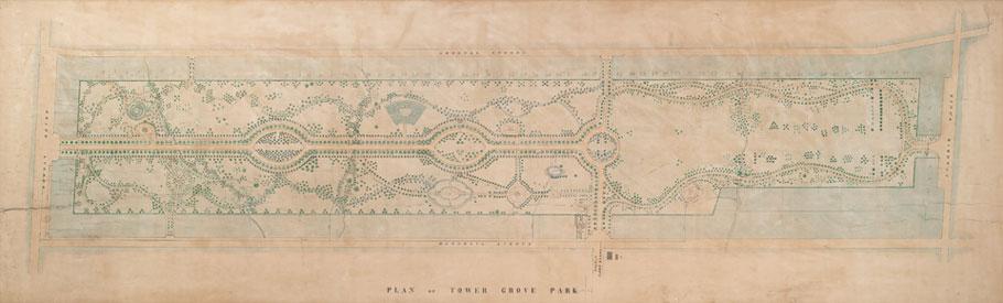 Original Map of the Park