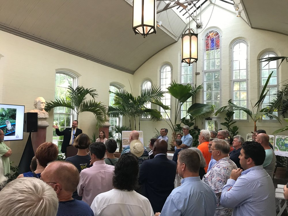 The public master plan open house on August 30 was attended by more than 200 people.