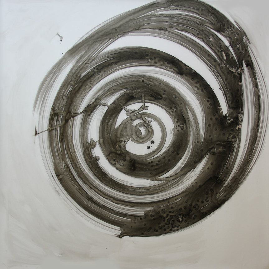 Darren Oberto Turntable Drawing 15 - 34 36 x 36""