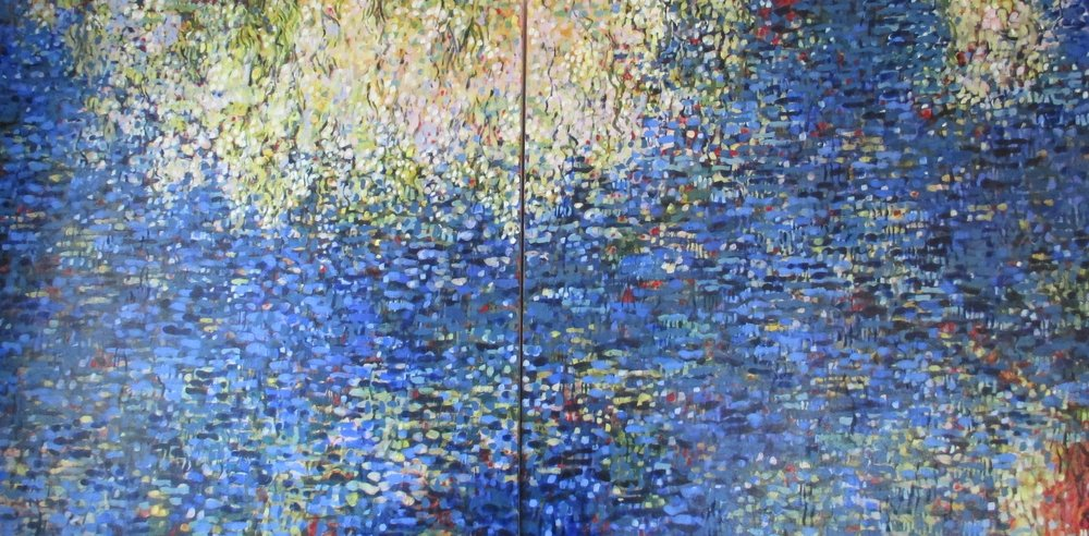 "Campbell's ""Reflection,"" a piece inspired by Monet's Water Lilies"