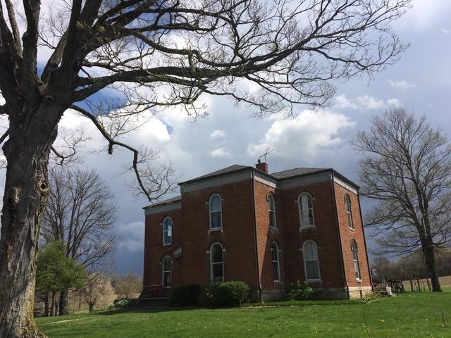 Delbecq's farmhouse, built in the 1860's