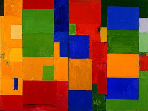 Hans Hofmann,  Combinable Walls I and II
