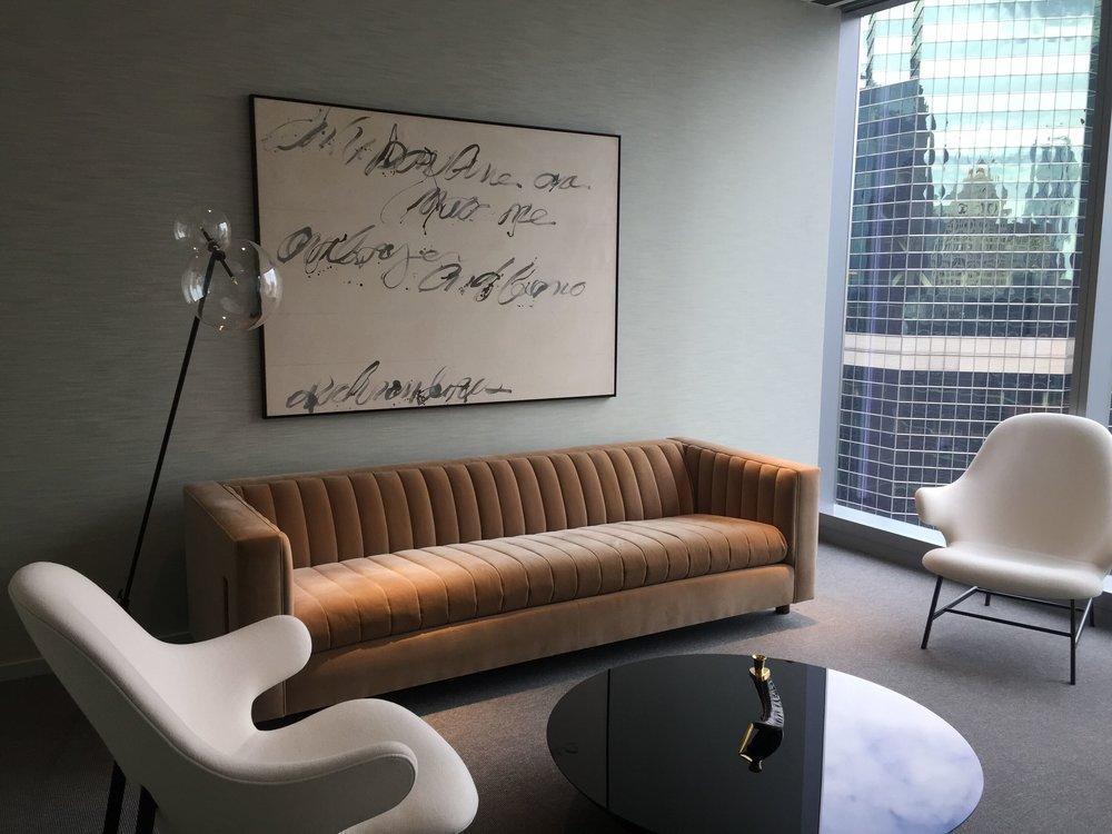 Corporate Office, Designed by Solomon Cordwell Buenz. Art by Matt Schaefer.